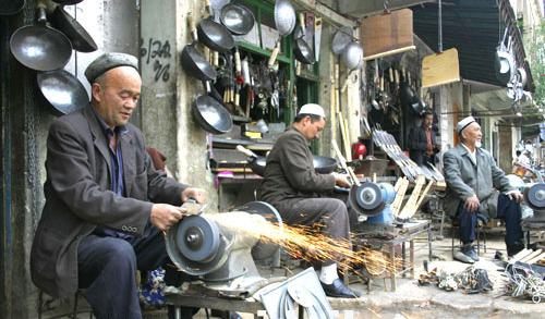 Handicraft street Streets