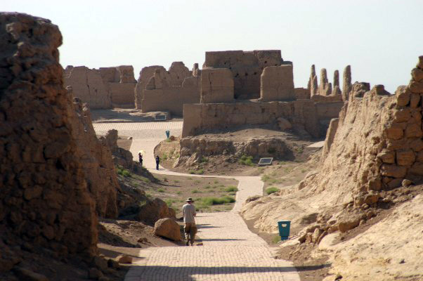 The Ruins of the Ancient City of Beiting